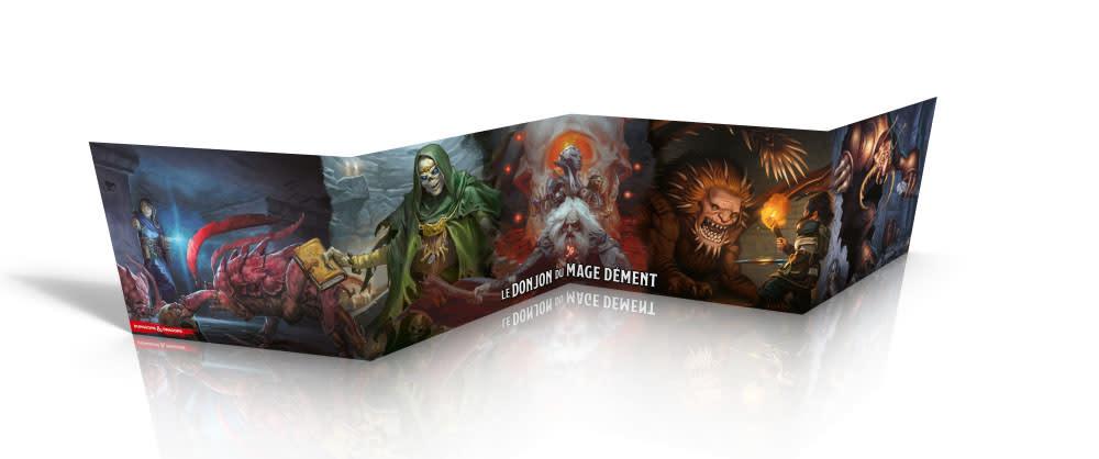 Donjons & Dragons: Ecran: Waterdeep Le Donjon Du Mage Dement (FR) (de retour février 2021)