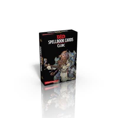 Donjons & Dragons - Cartes de Sorts: Clerc (FR)