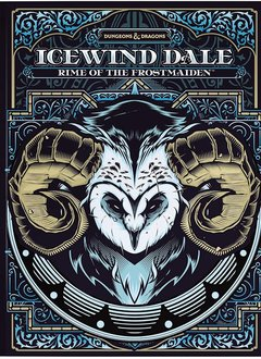 D&D 5E: Icewind Dale - Rime of the Frostmaiden (Alt. Cover)