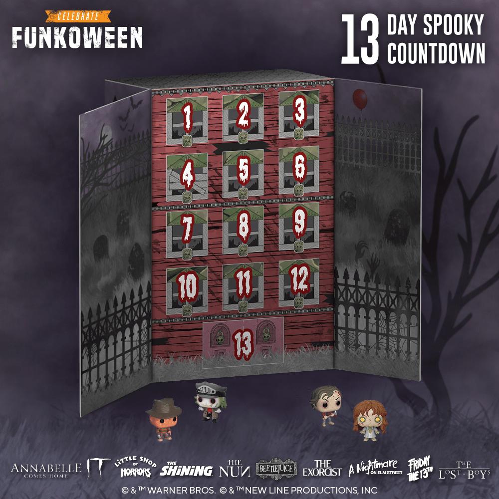 Funko 13-Day Spooky Countdown Calendar
