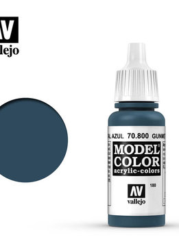 Vallejo Gunmetal Blue 17ml