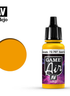 Vallejo Game Air Gold Yellow 17ml
