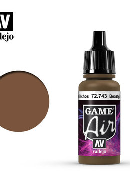 Vallejo Game Air Beasty Brown 17ml