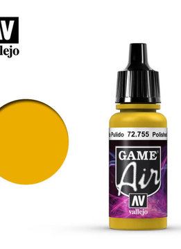 Vallejo Game Air Polished Gold 17ml