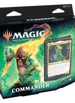 Zendikar Rising - Commander Deck: Land's Wrath (25 sept)