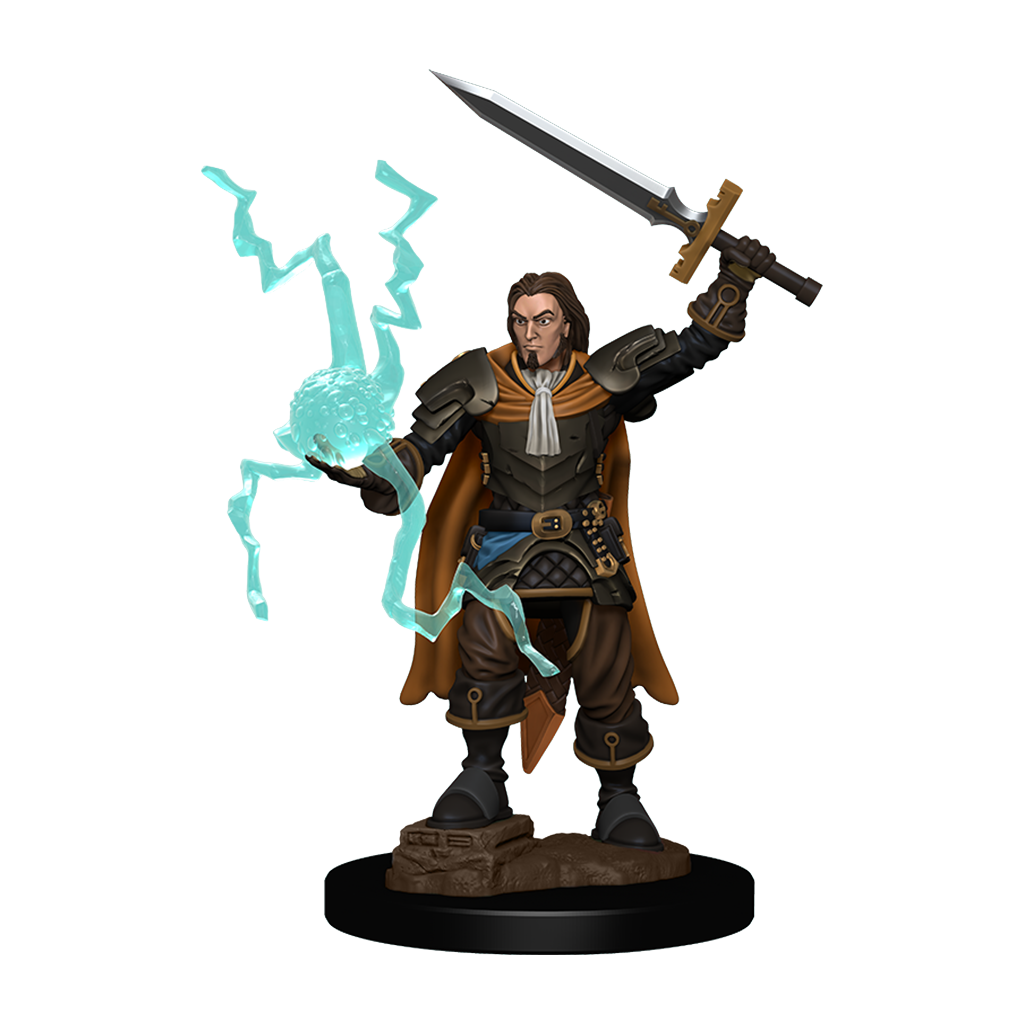 PF Battles Premium Painted Minis: Human Cleric Male