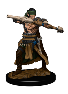 PF Battles Premium Painted Minis: Half-Elf Ranger Male
