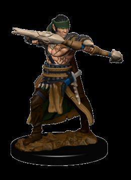 PF Battles Premium Painted Minis: Half-Elf Ranger Male