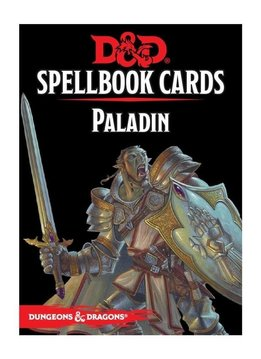 Donjons & Dragons: Cartes de Sorts: Paladin Deck (FR) (Précommande, de retour novembre 2020)