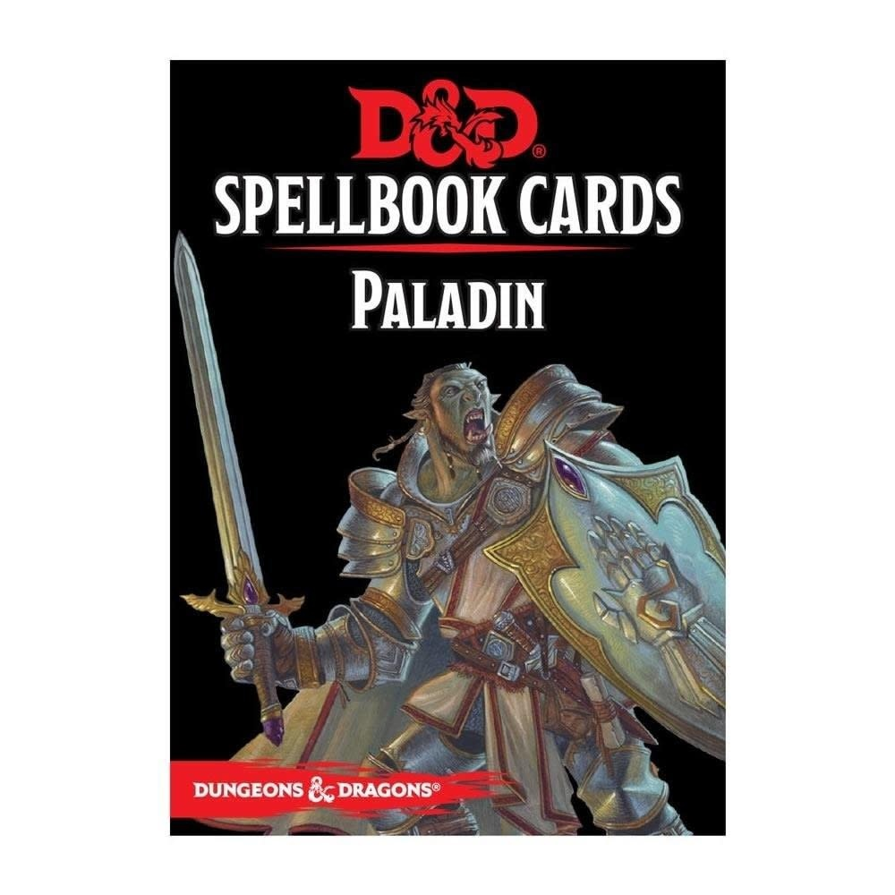 Donjons & Dragons - Cartes de Sorts: Paladin (FR)