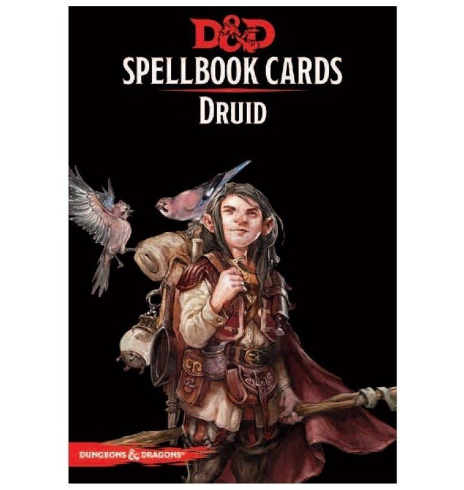 Donjons & Dragons - Cartes de Sorts: Druide