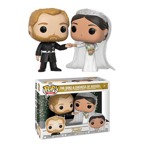 POP! Royals: Duke and Duchess of Sussex (2-Pack)