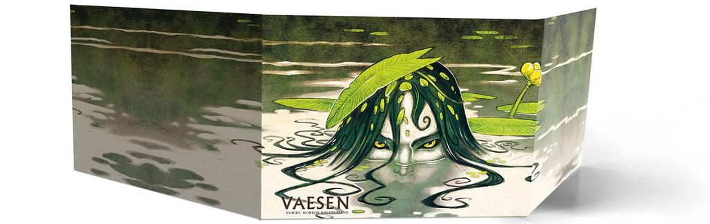 Vaesen: Nordic Horror RPG - GM Screen and Map