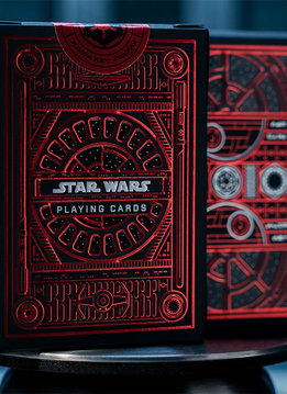 Theory 11 : Star Wars Playing Cards - Imperial Deck (Red)