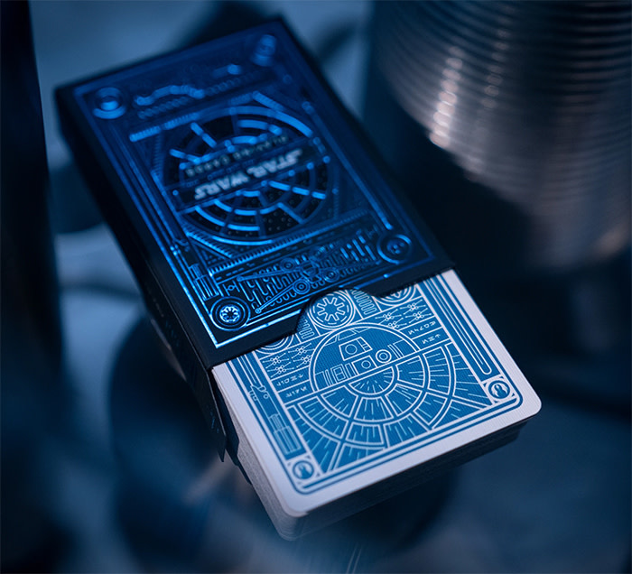 Theory 11 : Star Wars Playing Cards - Rebel Deck (Blue)