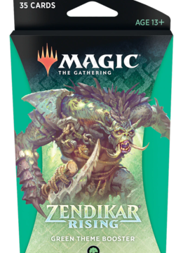 Zendikar Rising - Green Theme Booster