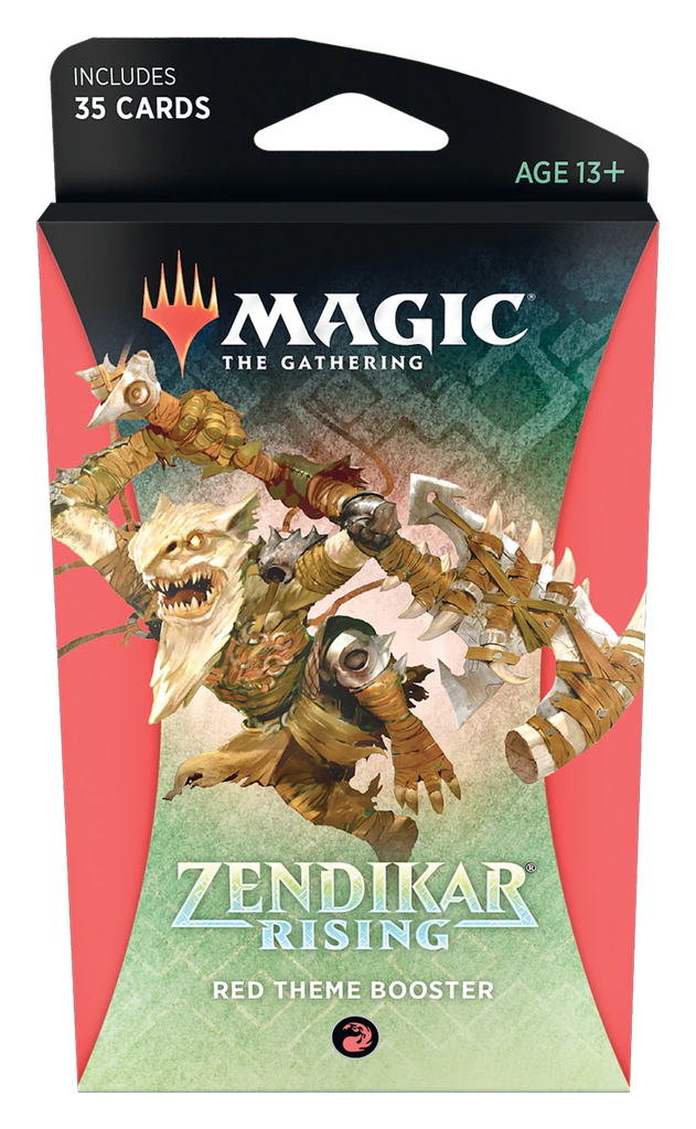 Zendikar Rising - Red Theme Booster