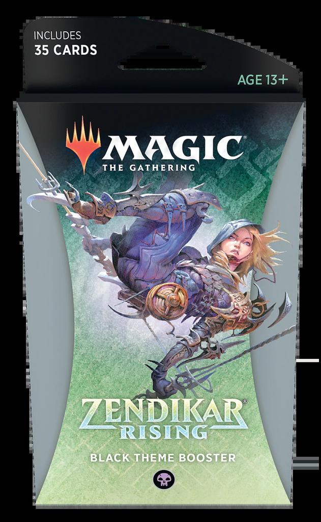 Zendikar Rising - Black Theme Booster