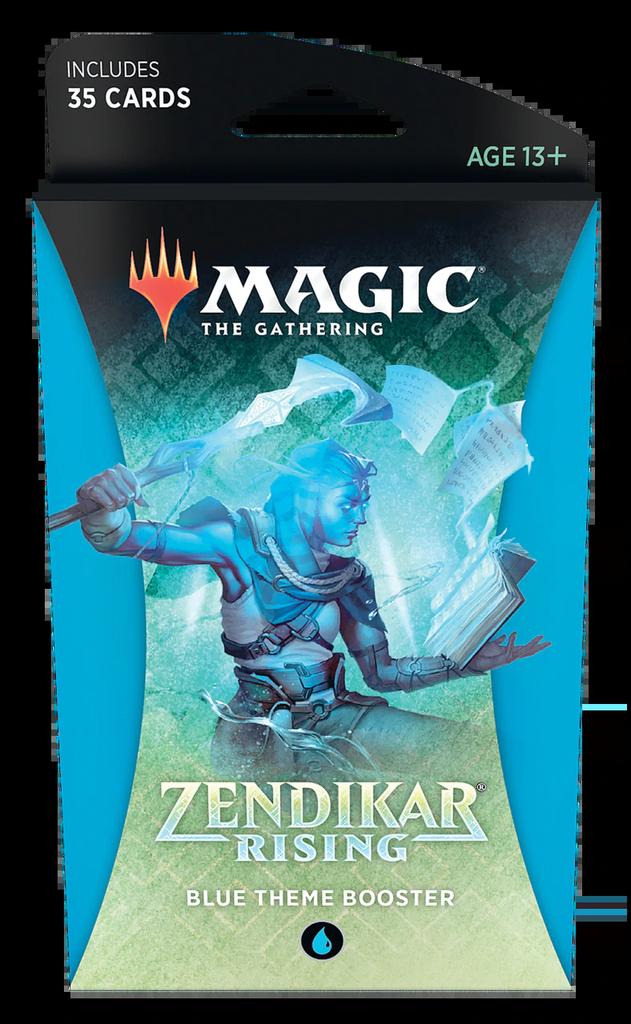 Zendikar Rising - Blue Theme Booster
