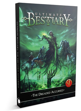 Ultimate Bestiary: The Dreaded Accursed (HC)