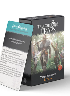 Treacherous Traps Deck: Level 1-4