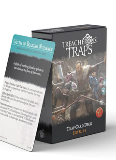 Treacherous Traps Deck: Level 5-8