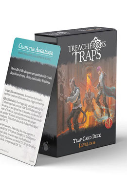Treacherous Traps Deck: Level 13-16