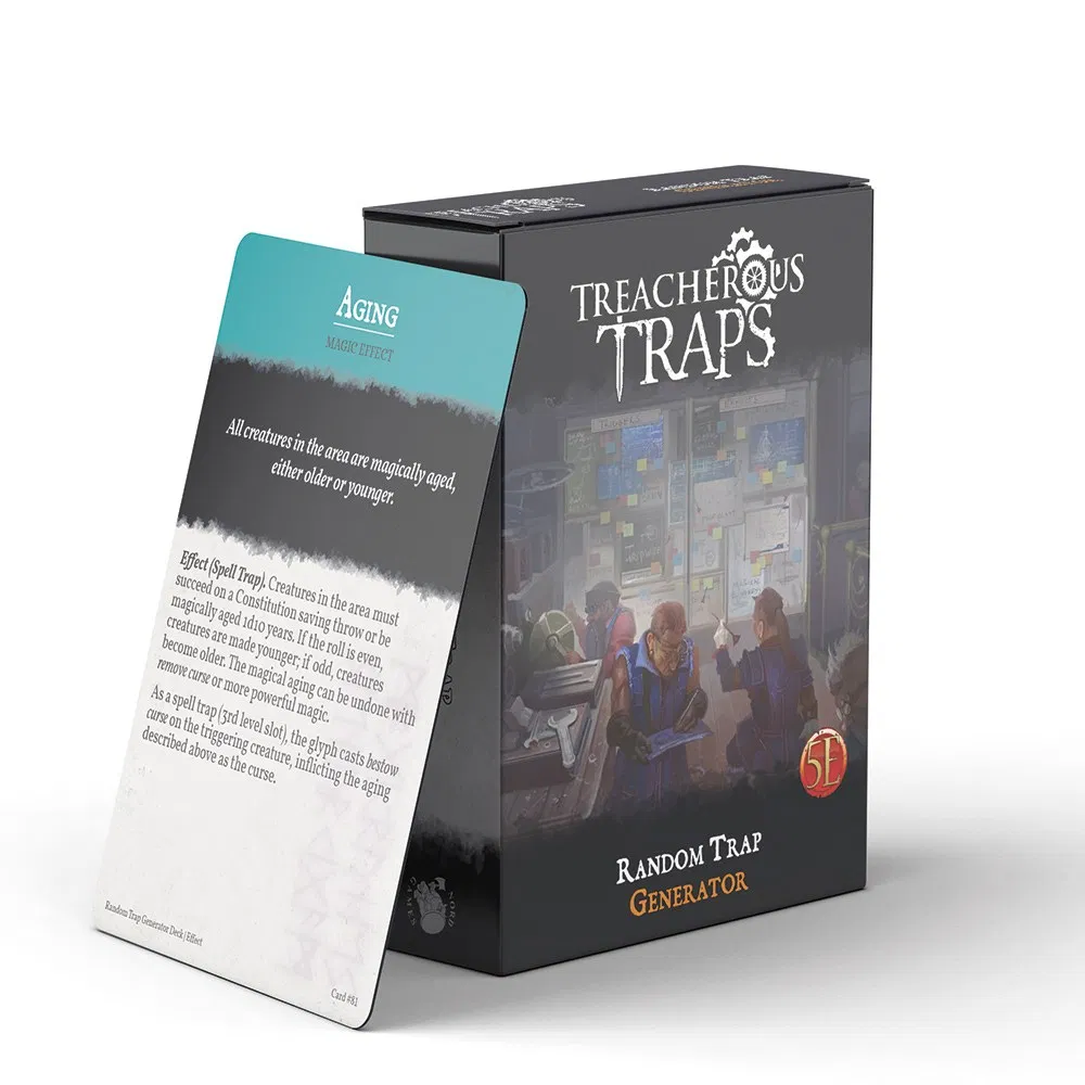 Treacherous Traps Deck: Random Trap Generator