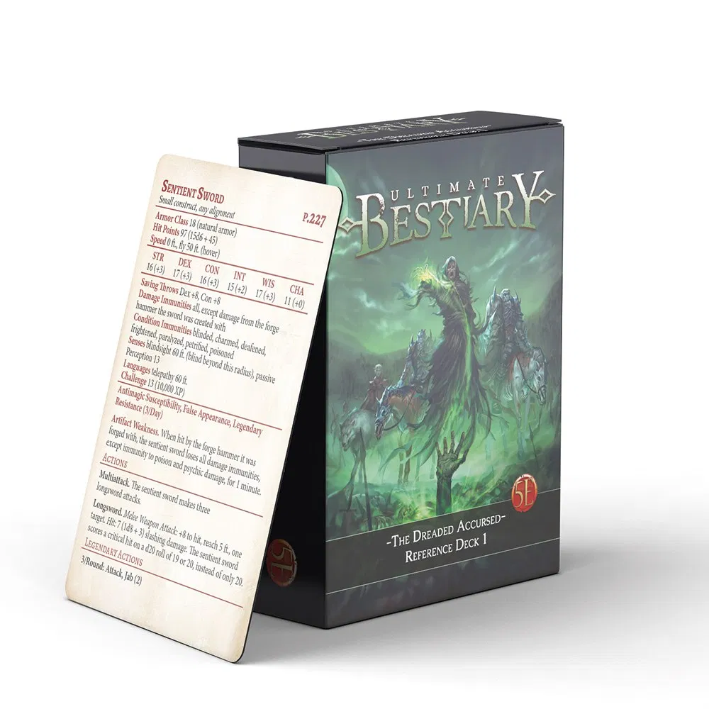 Ultimate Bestiary: The Dreaded Accursed - Deck 1