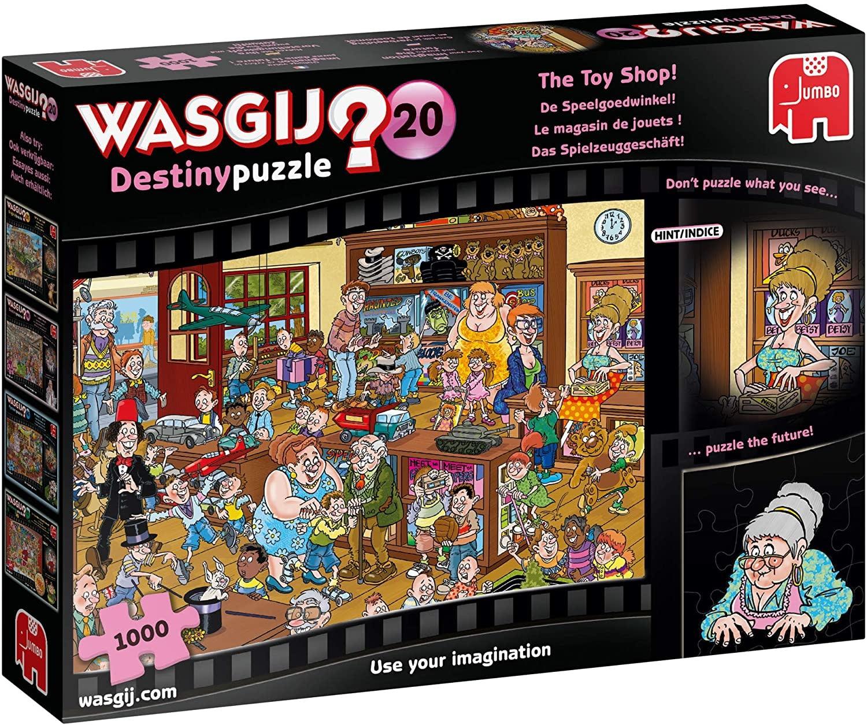 Wasgij? Destiny #20: Le magasin de jouets (1000pc)