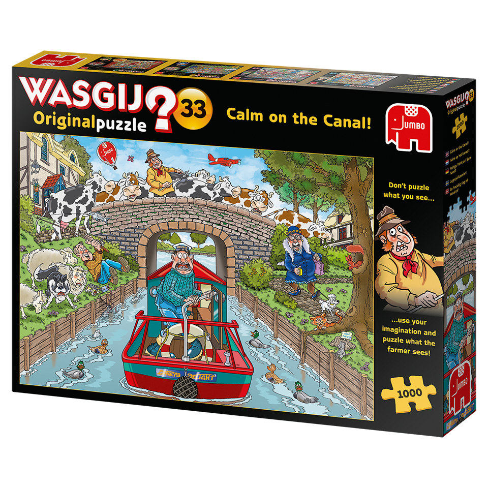 Wasgij? Original #33: Calm on the Canal (1000pc)