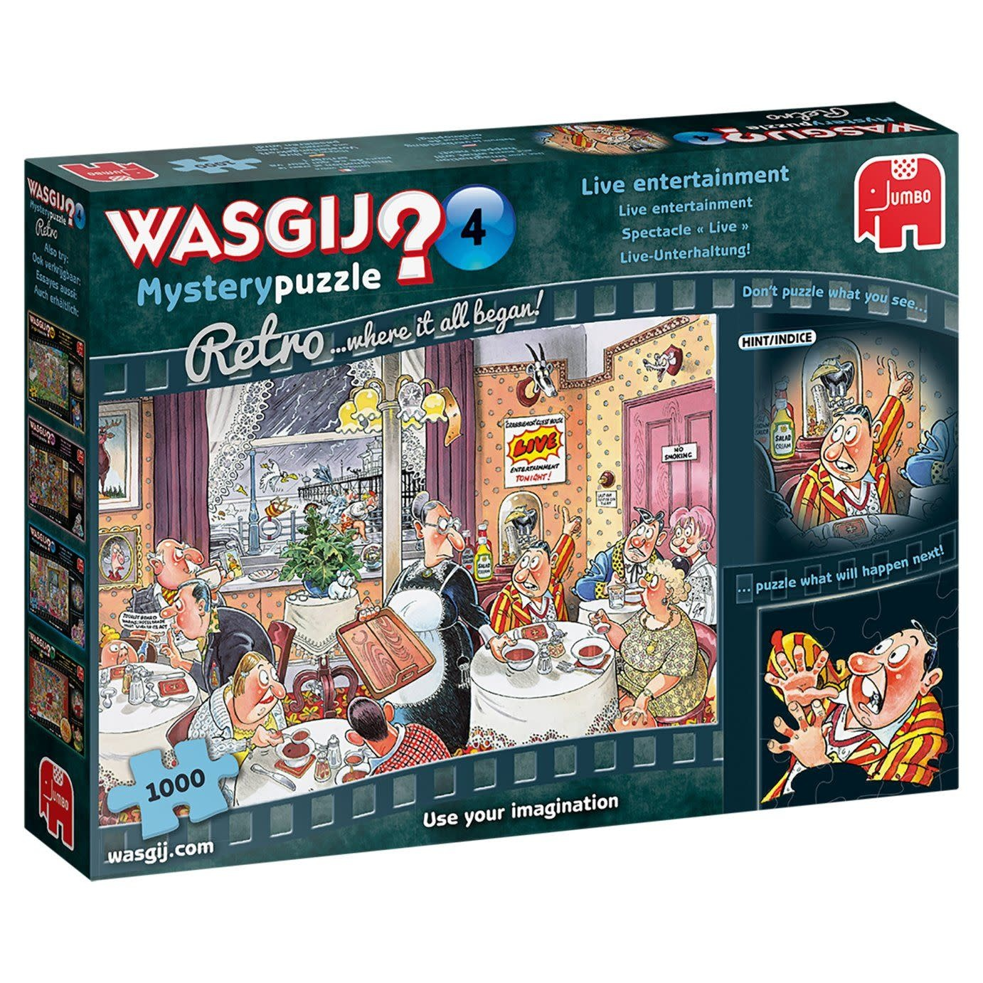 Wasgij? Retro Mystery #4: Spectacle « Live » (1000pc)