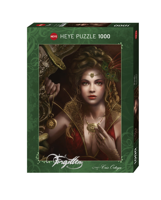 Puzzle: Gold Jewellery - Forgotten, Ortega (1000 pc)