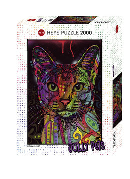 Puzzle: Abyssinian - Jolly Pets, Russo (2000 pc)