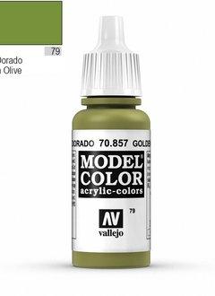 Vallejo Model Color: Golden Olive (17ml)