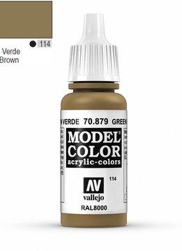 Vallejo Model Color: Green Brown (17ml)