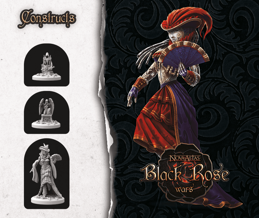 Black Rose Wars: Summonings - Constructs