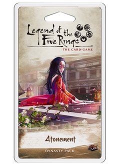 Legend of the Five Rings: Atonement Dynasty Pack