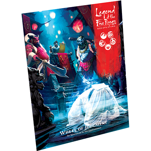 Legend of the Five Rings RPG: Wheel of Judgment (HC)