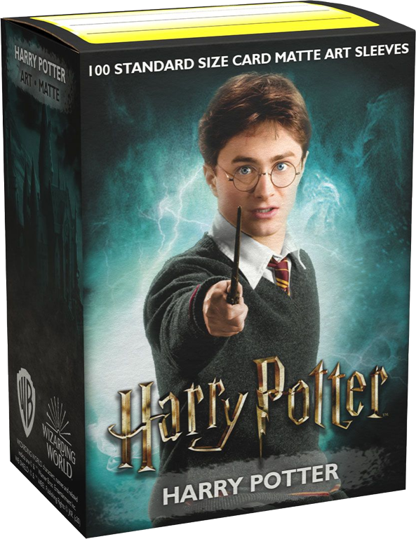 Harry Potter Dragon Shield Sleeves Ltd. Ed. Matte Art 100ct