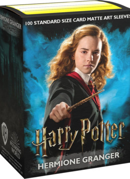 Hermione Granger Dragon Shield Sleeves Ltd. Ed. Matte Art 100ct