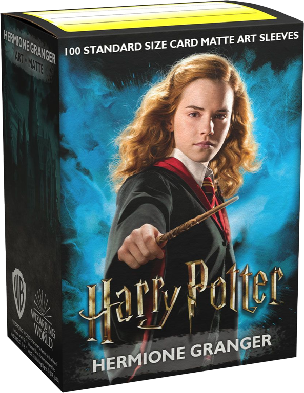 Hermione Granger Dragon Shield Sleeves Ltd. Ed. Matte Art 100ct