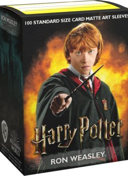 Ron Weasley Dragon Shield Sleeves Ltd. Ed. Matte Art 100ct