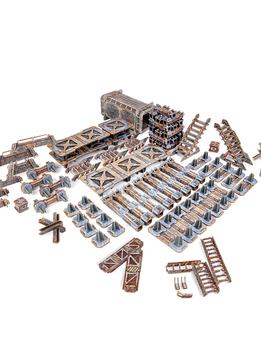 Tinkerturf Sci-Fi Industrial Starter Set: Abandonned