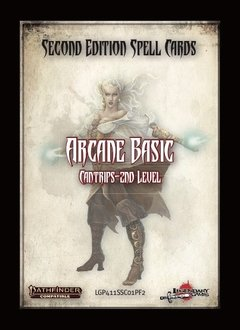 Pathfinder 2e Spell Cards: Arcane Basic