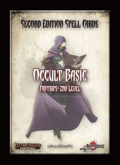 Pathfinder 2e Spell Cards: Occult Basic