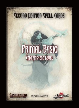 Pathfinder 2e Spell Cards: Primal Basic