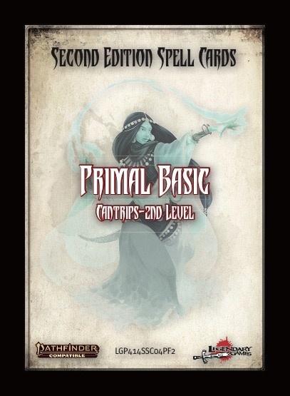 Pathfinder 2e Spell Cards: Primal Basic