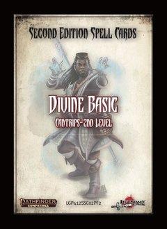 Pathfinder 2e Spell Cards: Divine Basic