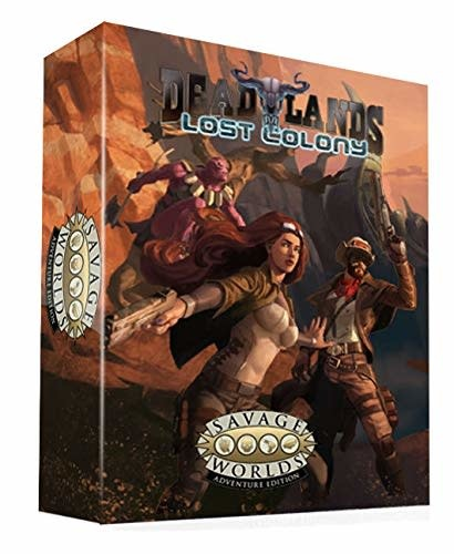 Deadlands: Lost Colony - Boxed Set